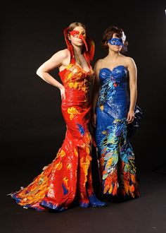 Duck Tape dresses!