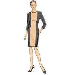 Patron de robe - Vogue 9017