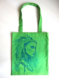 DIE ANTWOORD RAP RAVE PUNK YOLANDI SHOPPING CANVAS TOTE BAG IDEAL GIFT PRESENT