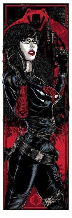 Baroness Poster by Rhys Cooper Release Details Gorgeous Illi. Comic Book Characters, Comic Character, Comic Books Art, Bd Comics, Comics Girls, Thundercats, Baroness Gi Joe, Rhys Cooper, Spiderman
