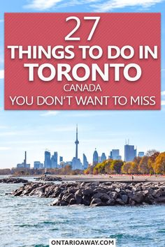 Awesome things to do in Toronto that you dont want to miss! Read this guide to plan your trip to Canadas biggest city with valuable tips from a local! #toronto  #ontario #canada #traveltips #citytrip