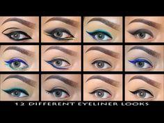 Delineado Perfecto 12 Looks   LoLo Love - YouTube