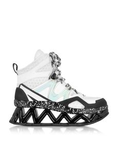 I dont do ninja, or the ice-skating look .... Marc by Marc Jacobs Black and White Tech Ninja Sneaker 36 (6 US | 3 UK | 36 EU) at FORZIERI