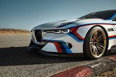 BMW's 3.0 CSL hommage R blurs the lines between driver + machine