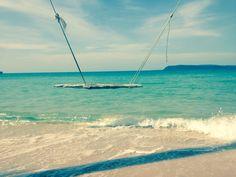 Lonely beach Cambodia