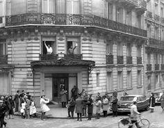 """Paris 1961 """"Duke Ellington et Louis Armstrong"""" Hotel de la Tremoille"""