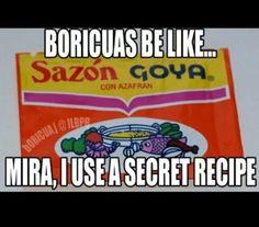 boricua be like sayings Puerto Rican Memes, Puerto Rican Recipes, Cubans Be Like, Hispanics Be Like, Latinas Be Like, Spanish Fly, Comida Boricua, Puerto Rico History, Puerto Rican Culture