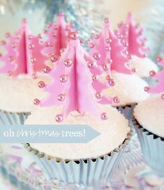 DIY Holiday Decor - Cupcake Christmas Trees and Other Alternative Christmas Trees! http://www.lampsplus.com/info-center/b/blog/archive/2012/11/30/diy-holiday-decor-alternative-christmas-trees.aspx#