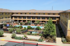 Meritage Hotel in Napa. Great place for a QBR or even larger. Bowling ally in hotel.