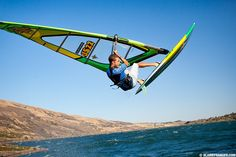 Catching air in Hood River, Or. Death Race, Multnomah Falls, Columbia River Gorge, Functional Training, Windsurfing, Training Equipment, Water Sports, Oregon, Trainers