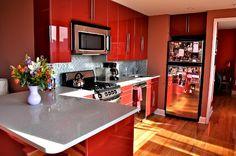 #kitchendesigns #homedecor #redkitchen #modernkitchen #homeimrpovementideas #homedesignideas