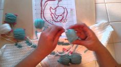 Wonderful how to video for crocheting graphs with multiple color changes!