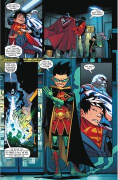 How Superboy And Robin Escaped Lex Luthor (Rebirth)
