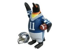JBA165 - Funny American Football Player Penguin - All Football Team Colors Painted - 2 - JBA165 - Funny American Football Player Penguin - All Football Team Colors Painted - 2.jpg