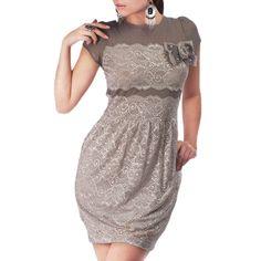 Dress I Taupe