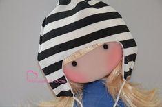 Выкройки кукол | VK Soft Sculpture, Crochet Hats, Beanie, Dolls, Mini, Pattern, How To Make, Ideas, Tela