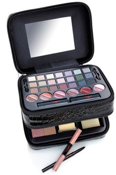 This 44 piece set comes in a sleek, black train case and includes 21 eye shadows, 12 lip color pots–even a one year subscription to Allure magazine–the beauty bible! The ybf beYOUty Blockbuster Makeup Collection retails at $59.95