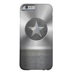 Steel & Metal #Superhero Star Shield #iPhone 6 Case