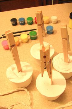 Recipe Card Holder Craft (before decorating)