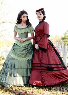 """""""Isobel"""" - Nina Dobrev as Elena, Mia Kirshner as Isobel in THE VAMPIRE DIARIES on The CW.  Photo: Bob Mahoney/The CW  ©2010 The CW Network, LLC. All Rights Reserved."""