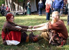 Viking Games | Helena and Fredrik playing games again. I bel… | Flickr