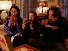 What Happens When You Eat Like The 'Gilmore Girls' For An Entire Week   The Huffington Post