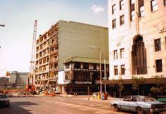 Demolition of Smith-Bridgemans and the Milner Arcade.
