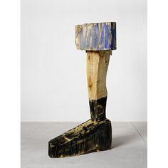 George Baselitz, Pace Piece, 2003. wood, Photo: Jochen Littkemann