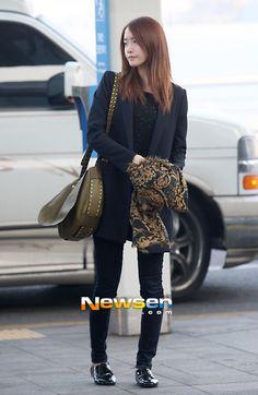 Yoona : 130308 Incheon Airport