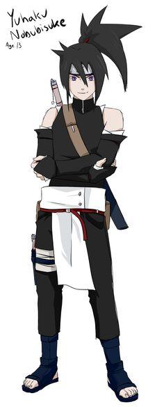 Yuhaku ::naruto OC:: by Skeletonny