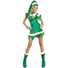 Secret Wishes Green Elf 5-Piece Costume, Green, Standard | Clothing, Shoes & Accessories, Costumes, Reenactment, Theater, Costumes | eBay!