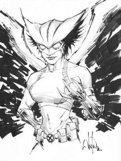 Hawkgirl by Whilce Portacio