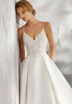 6adc8e3c90ce Luella Wedding Dress | Style 8272 | Morilee Wedding Planning Tips, Budget  Wedding, Rustic