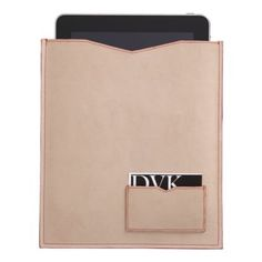 neutral ipad case with card holder. love. $30.
