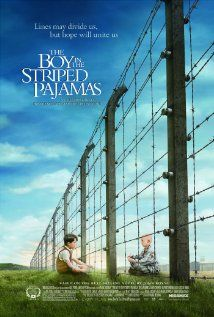"""The Boy in the Striped Pajamas"" - A story of a child's innocence and loving heart during a time of prejudice, war, and terror. One of the most thought provoking, tear jerking, Holocaust films I've ever seen."