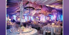 purple wedding themes