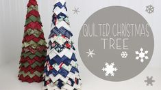 You have to see Quilted Christmas Trees by lainieinjax!