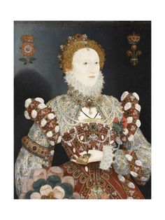 Madame de Pompadour (Elizabeth I of England, attr. to Nicholas. Elizabeth I, Tudor History, British History, Liverpool Museum, Liverpool Uk, Isabel I, Tudor Era, Walker Art, Queen Of England