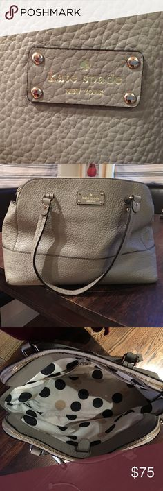 KAte Spade purse In great shape and has one pen stain on lining only kate spade Bags Shoulder Bags