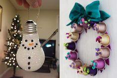 Enfeites de Natal reciclados: veja ideias para fazer e criar uma nova decoração!