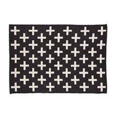 Indoor + Outdoor Rug (Black)