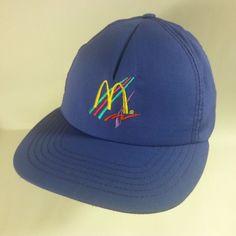 VINTAGE McDonald's Uniform Embroidered Snapback Baseball Hat Cap USA MADE- NICE! #TerryUniforms