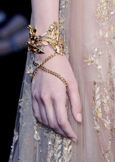 Details at Elie Saab Fall 2015 Couture.