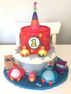 Twirlywoos Cake #twirlywooscake