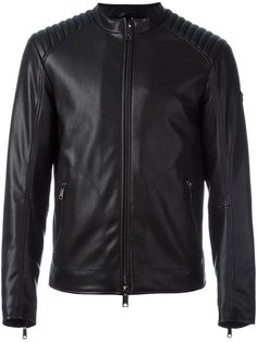 Armani Jeans faux leather jacket