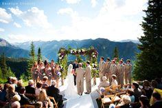 Aspen Wedding Deck