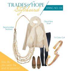 Fair trade fashion giving hope to women around the world! mytradesofhope.com/angelaspearman #tradesofhope #fairtrade