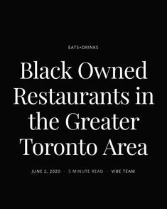 black lives matter. 🖤 - @viewthevibe we are doing our part to support the B L M movement, starting in our own backyard. Black Owned Restaurants. If there are any other stories, resources, etc that you think we should share, PLZ DM me so that we can help in #AmplifyingMelanatedVoices! Thank you. ✊🏿✊🏾✊🏼✊🏽 ___ #blackouttuesday Greater Toronto Area, Thinking Of You, Restaurants, Backyard, Content, Reading, Travel, Life, Black