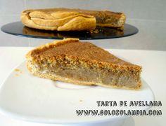 Tarta de avellana al horno receta fácil, paso a paso  http://www.golosolandia.com/2014/09/tarta-de-avellana-al-horno.html