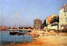 Bandol vers 1900 par Jean-Baptiste Olive